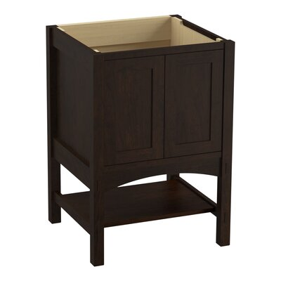 Marabou� 24 Vanity with 2 Doors Finish: Claret Suede