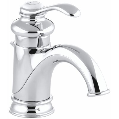 Fairfax Single Hole Bathroom Sink Faucet with Single Lever Handle Finish: Polished Chrome