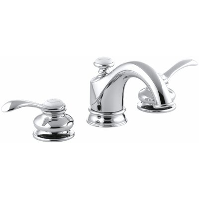 Fairfax Widespread Bathroom Sink Faucet with Lever Handles Finish: Polished Chrome
