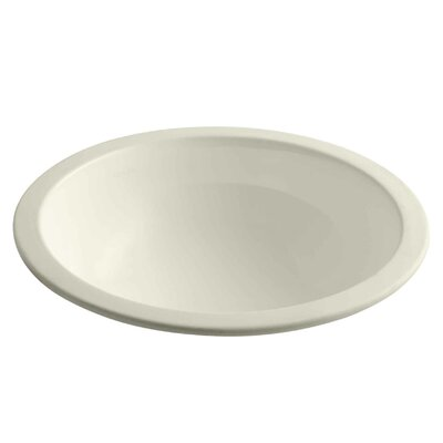 Camber Circular Undermount Bathroom Sink Sink Finish: Almond