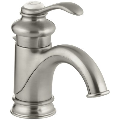 Fairfax Hole Single Handle Bathroom Faucet Finish: Vibrant Brushed Nickel