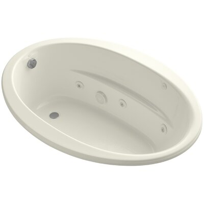 Sunward 60 x 42 Whirlpool Bathtub Finish: Biscuit