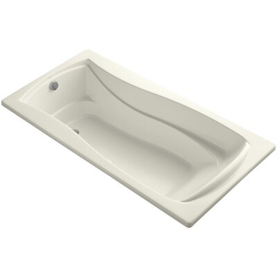 Mariposa 72 x 36 Air Bathtub Finish: Biscuit