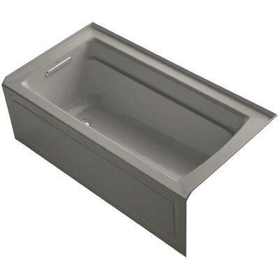 Archer Alcove Bubblemassage 60 x 32 Whirpool Bathtub Sink Finish: Cashmere