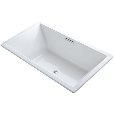 Underscore Vibracoustic 72 x 42 Soaking Bathtub Finish: White