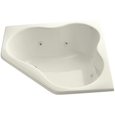 Proflex 54 x 54 Whirlpool Bathtub Finish: Biscuit