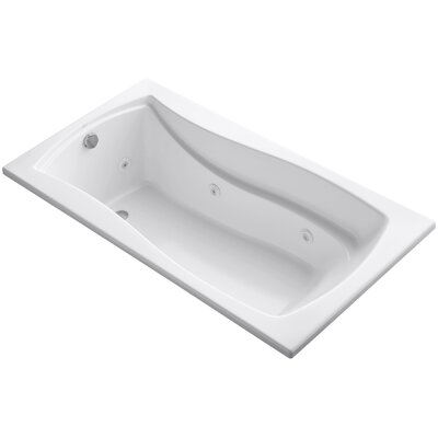 Mariposa 66 x 36 Whirlpool Bathtub Finish: White