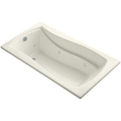 Mariposa 66 x 36 Whirlpool Bathtub Finish: Biscuit