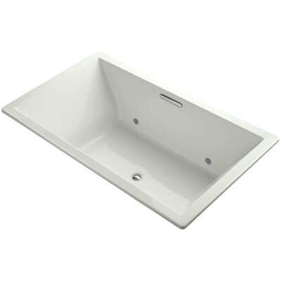 Underscore Vibracoustic 72 x 42 Whirpool Bathtub Finish: Dune