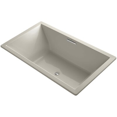 Underscore Vibracoustic 72 x 42 Soaking Bathtub Finish: Sandbar