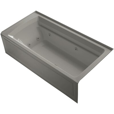 Archer 72 x 36 Whirlpool Bathtub Finish: Cashmere
