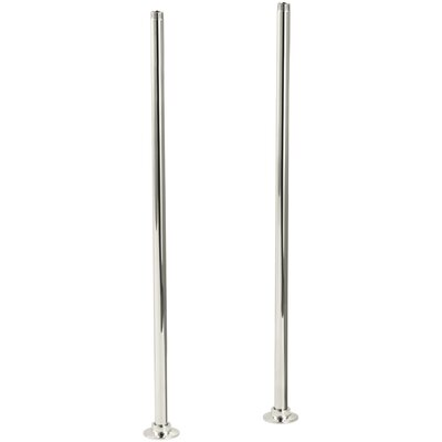 Antique Riser Tubes Only, Long Finish: Vibrant Polished Nickel