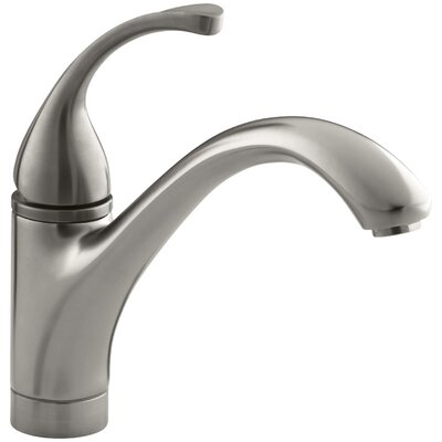 Fort� Single-Hole Kitchen Sink Faucet with 9-1/16 Spout Finish: Vibrant Stainless