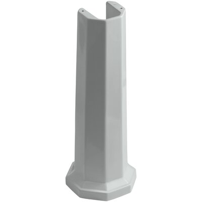 Kathryn Bathroom Sink Pedestal Finish: Ice Grey