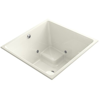Underscore Vibracoustic 48 x 48 Whirpool Bathtub Finish: Biscuit