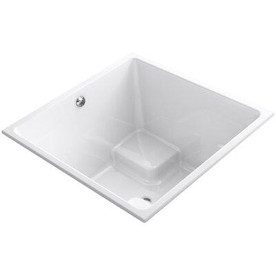 Underscore Vibracoustic 48 x 48 Soaking Bathtub Finish: White