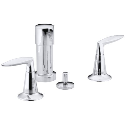 Alteo Vertical Spray Bidet Faucet Finish: Polished Chrome