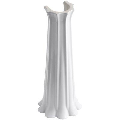 Anatole Lavatory Pedestal Finish: White