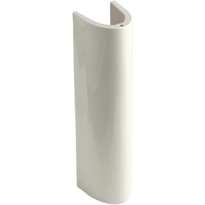 Wellworth Pedestal Only Pedestal Finish: Biscuit