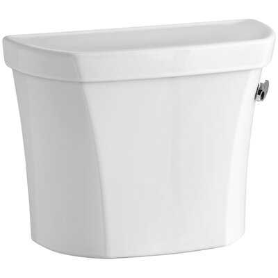 Wellworth 1.6 GPF Tank with Right -Hand Trip Lever Finish: White