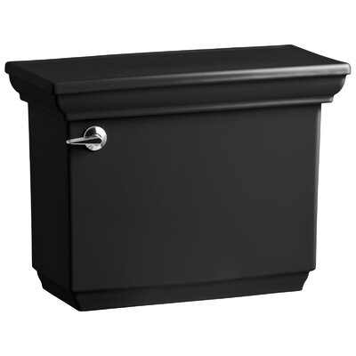 Memoirs Stately 1.6 GPF Toilet Tank Finish: Black Black