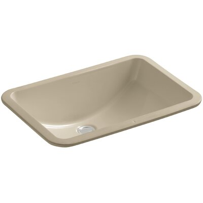 Ladena Ceramic Rectangular Undermount Bathroom Sink Finish: Mexican Sand