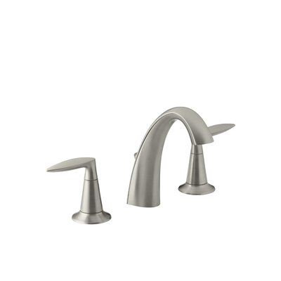 Alteo Widespread Bathroom Sink Faucet Finish: Vibrant Brushed Nickel
