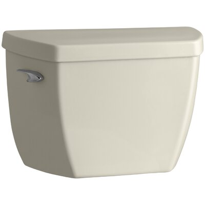 Groove 1.6 GPF Toilet Tank with Pressure Lite Flushing Technology Finish: Almond