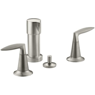 Alteo Vertical Spray Bidet Faucet Finish: Vibrant Brushed Nickel