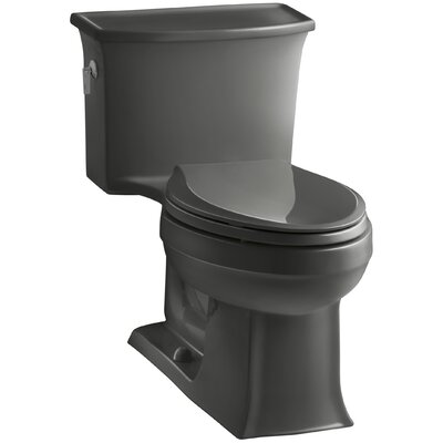 Archer 1.28 GPF Elongated One-Piece Toilet Finish: Thunder Grey