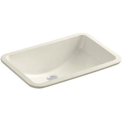 Ladena Rectangular Undermount Bathroom Sink Finish: Almond