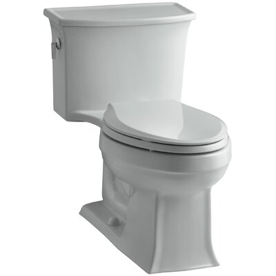Archer 1.28 GPF Elongated One-Piece Toilet Finish: Ice Grey