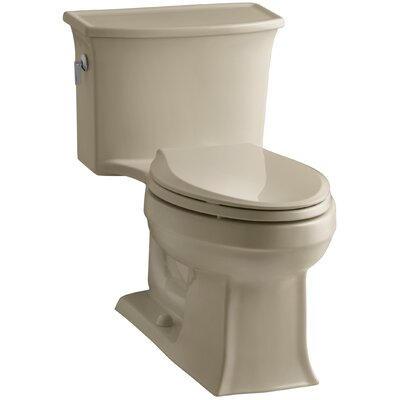 Archer 1.28 GPF Elongated One-Piece Toilet Finish: Mexican Sand