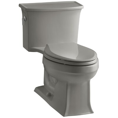 Archer 1.28 GPF Elongated One-Piece Toilet Finish: Cashmere