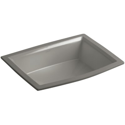 Archer Rectangular Undermount Bathroom Sink Sink Finish: Cashmere