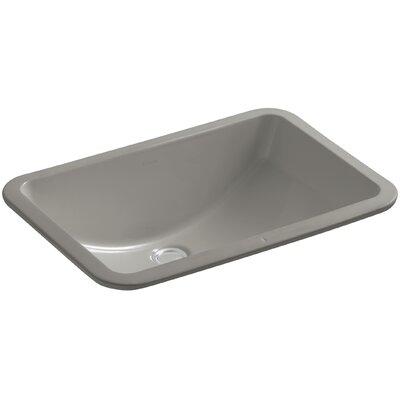 Ladena Rectangular Undermount Bathroom Sink Finish: Cashmere