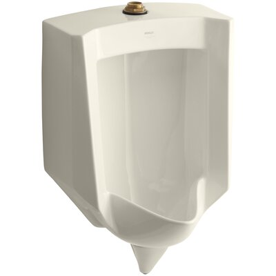 Stanwell Blow-Out Wall-Mount 1 GPF Urinal with Top Spud Finish: Almond