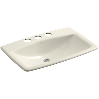 ManS Lav Rectangular Undermount Bathroom Sink Sink Finish: Almond