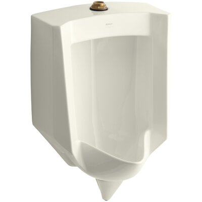 Stanwell Blow-Out Wall-Mount 1 GPF Urinal with Top Spud Finish: Biscuit