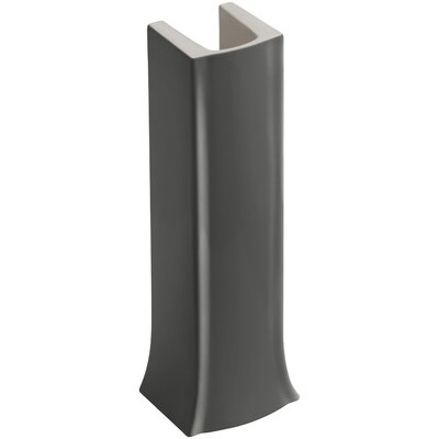 Archer Pedestal Only Finish: Thunder Grey