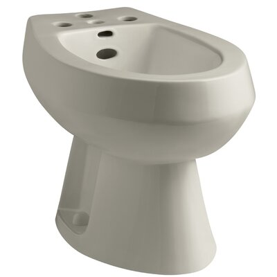 San Tropez Vertical Spray Bidet with 4 Faucet Holes Finish: Sandbar