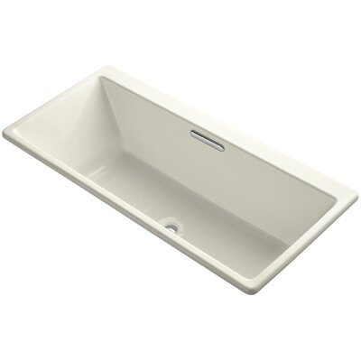 Reve 67 x 32 Soaking Bathtub Finish: Biscuit