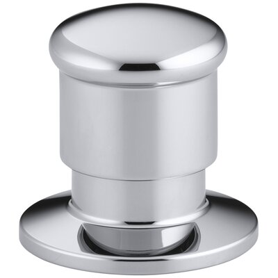 Deck-Mount Two-Way Diverter Valve Finish: Polished Chrome