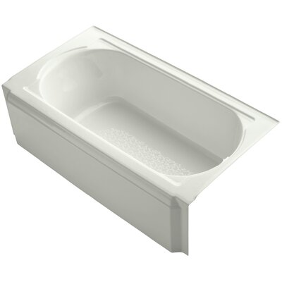 Memoirs Alcove 60 x 34 Soaking Bathtub Finish: Dune