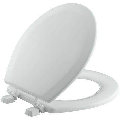 Triko Round-Front Toilet Seat Finish: Ice Grey