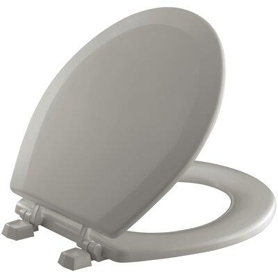 Triko Round-Front Toilet Seat Finish: Cashmere