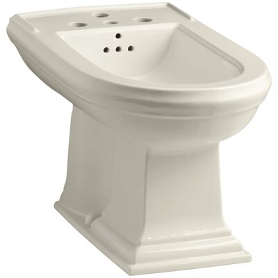 Memoirs Vertical Spray Bidet with 4 Faucet Holes Finish: Almond