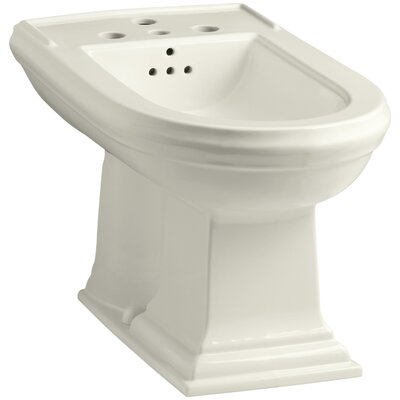 Memoirs Vertical Spray Bidet with 4 Faucet Holes Finish: Biscuit