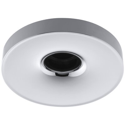 Laminar Wall- or Ceiling-Mount Bath Filler with Orifice Finish: Polished Chrome