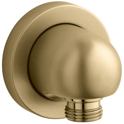 Stillness Wall-Mount Supply Elbow Finish: Vibrant Moderne Brushed Gold